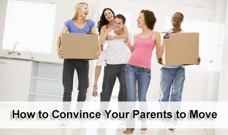 How to convince your parents to move