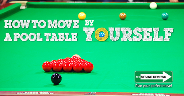 How To Move A Pool Table By Yourself