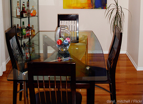 How To Move A Dining Room Table And Chairs