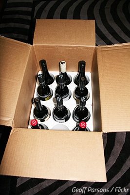How to Pack Wine Bottles for a Move - MyMovingReviews